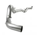 "Full Exhaust Systems - Downpipe Back Exhaust Systems - aFe Power - aFe Power ATLAS 5"" Aluminized Downpipe Back w/NO Muffler 