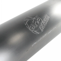 """aFe Power Large Bore-HD 5"""" Stainless Downpipe Back w/Muffler & Polished Tip   2007.5-2010 Chevy/GMC Duramax LMM 6.6L   Dales Super Store"""