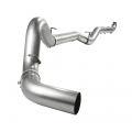 "Full Exhaust Systems - Downpipe Back Exhaust Systems - aFe Power - aFe Power Large Bore-HD 5"" Stainless Downpipe Back w/NO Muffler 