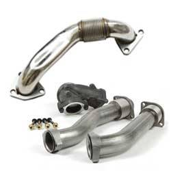 Down Pipes & Up Pipes | 2007.5-2010 Chevy/GMC Duramax LMM 6.6L