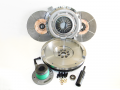 Clutch  Kits - Street Double Disc Clutch Kits - Valair Performance Clutches - Valair Performance replacement Dual Disc Clutch | NMU70DMAXDDS-ORG-LBZ | 2005-2006 Duramax 6.6L