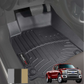 2017+ Ford SuperDuty F250-F550 - Floor Liners | Ford F250-F550  - Weathertech - Weathertech Floor Liners for Ford Super Duty
