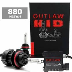 Brands - OUTLAW Lighting - HID Headlight Kits by Bulb Size