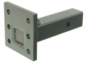 "B&W Hitches - B&W Trailer Hitches 16K Pintle Mount 6 Hole 2 Position 9"" Shank 