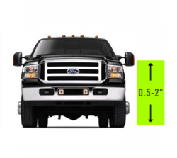 ".5"" - 2"" Lift 