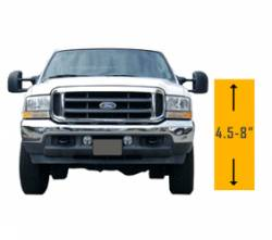 "4.5"" - 8"" Lift 