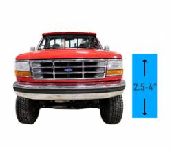 "Suspension & Steering | 1994-1997 Ford Powerstroke 7.3L - Suspension Lift Kits | 1994-1997 Ford Powerstroke 7.3L - 2.5"" - 4"" Lift 