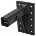 """Convert-A-Ball Cushioned, Adjustable Pintle Mounting Bar for 2"""" Hitches - 10 Holes - 10,000 lbs 