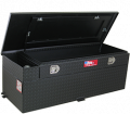 Fuel Tank Replacements and Auxiliary - Toolbox & Fuel Tank Combo - RDS Aluminum - RDS Aluminum 60 Gallon Rectangular Liquid Transfer Tank-Black | RDS72743PC | Universal Fitment