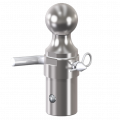 PullRite - PullRite OE Series Gooseneck Ball Adapter | PLR4436 | Universal Fitment