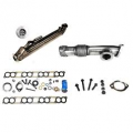 Shop By Category - EGR Cooler Replacements / Upgrades - Bostech Auto - Bostech Auto EGR Cooler Kit w/ Up-Pipe | EK025002 | 2004-2007 Ford Powerstroke 6.0L