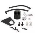 Shop By Category - Catch Cans - Mishimoto™ - Mishimoto Baffled Oil Catch Can Kit | MMBCC-F2D-17BE | 2017+ Ford Powerstroke 6.7L