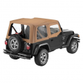 Shop By Category - Exterior - Bestop  - BESTOP Sailcloth Replace-a-Top | BES79121-37 | 1997-2002 Jeep Wrangler