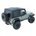 Shop By Category - Exterior - Bestop  - BESTOP Sailcloth Replace-a-Top | BES79123-01 | 1988-1995 Jeep Wrangler