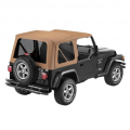 Shop By Category - Exterior - Bestop  - BESTOP Sailcloth Replace-a-Top | BES79139-37 | 1997-2002 Jeep Wrangler