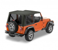 Shop By Category - Exterior - Bestop  - BESTOP Sailcloth Replace-a-Top | BES79141-35 | 2003-2006 Jeep Wrangler