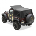 Shop By Category - Exterior - Bestop  - BESTOP Sailcloth Replace-a-Top | BES79146-35 | 2007-2018 Jeep Wrangler