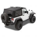 Shop By Category - Exterior - Bestop  - BESTOP Replace-a-Top (OEM Hardware) | BES79836-17 | 1997-2006 Jeep Wrangler