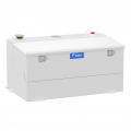 Fuel Tank Replacements and Auxiliary - In-Bed Auxiliary Fuel Tanks - UWS Truck Accessories - UWS 75Gal Combo Transfer Tank (White) | ST-75-COMBO-W | Multi-Vehicle Fitment