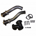 Diesel Truck Parts - Ford Powerstroke Parts - Outlaw Diesel - Bellowed Up Pipe Kit | 1999.5-2003 Ford Powerstroke 7.3L