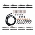 Freedom Injection - 6.9L 7.3L IDI Diesel Tune Up Kit Injectors + Glow Plugs + Install Kit | 1983-1992 Ford IDI 6.9/7.3L