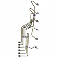 Freedom Injection - VP44 Stock Fuel Injection Line Kit w/ Optional Clamps | 1995-2002 Dodge Cummins 5.9L - Image 2