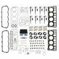 Engine Components  - Head Studs / Head Gaskets - Freedom Injection - 6.0 Powerstroke Elite Solution Kit2 w/ Injectors + Gaskets | 2003-2007 Ford Powerstroke 6.0L