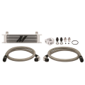 Cooling Systems - Intercoolers & Pipes - Mishimoto™ - Mishimoto 10-Row Oil Cooler Kit | Universal Fitment