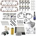 Shop By Category - Engine Overhaul / Rebuild Kits - Freedom Injection - 6.0 Powerstroke Elite Solution Kit w/ Injectors + Gaskets | 2003-2010 Ford Powerstroke 6.0