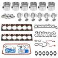 Engine Components - Engine Overhaul / Rebuild Kits - Freedom Injection - 5.9 Cummins 24v Standard Output Overhaul Kit | Pistons + Bearings + Gaskets| 1998.5-2002 Dodge Cummins 5.9L