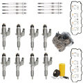 Injectors, Lift Pumps & Fuel Systems - Performance Packages - Freedom Injection - LB7 Duramax Injector Super Kit w/ Gasket Install Kit & Glow Plugs, Pump, Filters | 2001-2004 Chevy/GM LB7