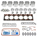 Shop By Category - Engine Overhaul / Rebuild Kits - Freedom Injection - 5.9 Cummins 24v Overhaul Kit | Pistons + Bearings + Gaskets | 1998.5-2002 Dodge Cummins 5.9L