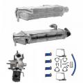 "NEW 08-12 InternationalMaxxforceEGR Coolers + Valve ""Godzilla"" Kit (Intake + Exhaust Side)   4307362R91 + 7090595C91 + 1878918C2   2008-2012 International / Navistar MAXXFORCE DT / 9 / 10"