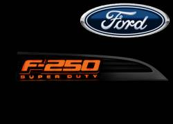 External Lighting - Emblems, Badges & Inserts - Ford F250 Emblems, Badges & Inserts