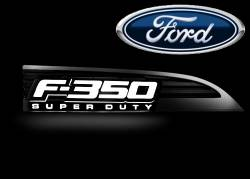 External Lighting - Emblems, Badges & Inserts - Ford F350 Emblems, Badges & Inserts
