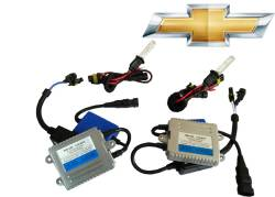 External Lighting - HID Kits & Parts - Chevrolet HID Kits & Parts