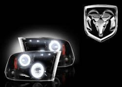 External Lighting - Projector Headlights - Dodge Projector Headlights