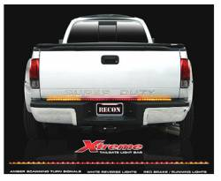 "Recon Landing Page - Recon Tailgate Bars - ""Xteme"" Amber Scanning Tailgate Bars (60"" or 49"")"